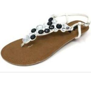 Kenneth Cole Rhinestone Sandals